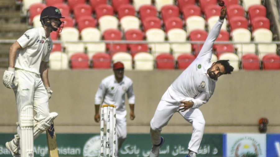 Rashid Khan picked up a five-for in Ireland's second innings