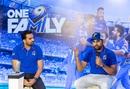 Rohit Sharma and Zaheer Khan at a media interaction ahead of the IPL season, Mumbai, March 19, 2019
