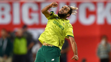 Imran Tahir secured the Super Over for South Africa