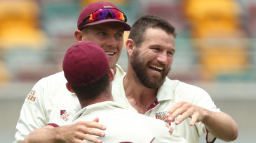 Michael Neser ran through the Western Australia batting