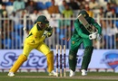Shoaib Malik is bowled, Pakistan v Australia, 1st ODI, Sharjah, March 22, 2019