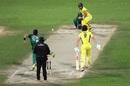 Aaron Finch took the attack to Yasir Shah, Pakistan v Australia, 1st ODI, Sharjah, March 22, 2019