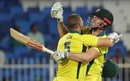 Aaron Finch and Shaun Marsh put on 172 for the second wicket, Pakistan v Australia, 1st ODI, Sharjah, March 22, 2019