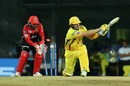 Shane Watson is bowled, Chennai Super Kings v Royal Challengers Bangalore, Chennai, IPL 2019, March 23, 2019