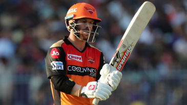 David Warner celebrated his return to SRH colours with a scintillating knock