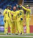 Aaron Finch was the surprise package with the ball, Pakistan v Australia, 2nd ODI, Sharjah, March 24, 2019