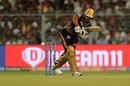 Nitish Rana works the ball away, Kolkata Knight Riders v Sunrisers Hyderabad, March 24, 2019
