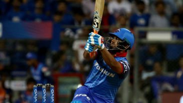 Rishabh Pant smashed a 18-ball half-century in his first game of IPL 2019