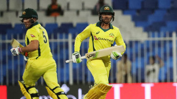 Aaron Finch and Usman Khawaja added a double-century opening stand