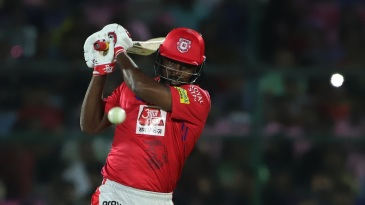 Chris Gayle was at his blistering best after taking his time to get going