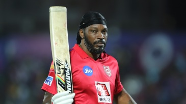 Chris Gayle became the fastest to score 4000 IPL runs - in just 112 innings