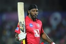 Chris Gayle became the fastest to score 4000 IPL runs - in just 112 innings, Rajasthan Royals v Kings XI Punjab, Indian Premier League 2019, Jaipur, March 25, 2019