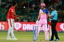 R Ashwin and Jos Buttler exchange words, Rajasthan Royals v Kings XI Punjab, IPL 2019, Jaipur, March 25, 2019