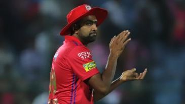 R Ashwin eggs his players on
