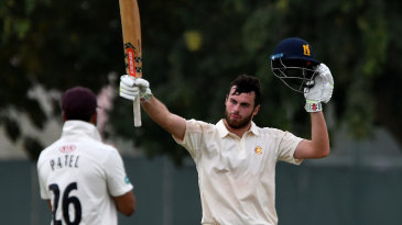 Dom Sibley brings up his hundred