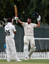 Dom Sibley brings up his hundred for MCC v Surrey, County Champion match, day three, Dubai, March 26, 2019