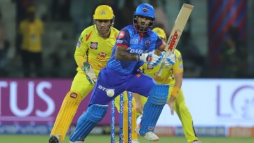 Shikhar Dhawan sets off for a quick single