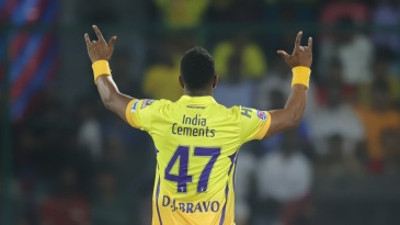 Dwayne Bravo picked up three top-order wickets
