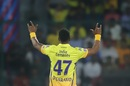 Dwayne Bravo picked up three top-order wickets, Delhi Capitals v Chennai Super Kings, Indian Premier League 2019, New Delhi, March 26, 2019
