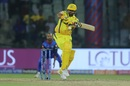 Suresh Raina shapes to guide the ball behind square on the leg-side, Delhi Capitals v Chennai Super Kings, Indian Premier League 2019, New Delhi, March 26, 2019