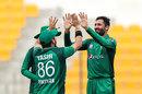 Junaid Khan struck in his first over, Pakistan v Australia, 3rd ODI, Abu Dhabi, March 27, 2019