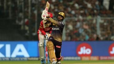 Sunil Narine took 25 runs off Varun Chakravarthy's first over in the IPL