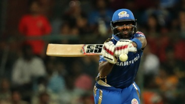 Suryakumar Yadav reaches out to hit the ball