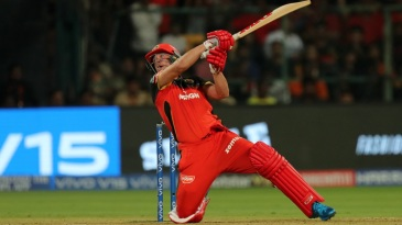 AB de Villiers keeps finding ways to hit sixes at crucial times