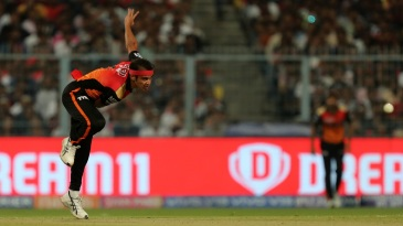 Siddarth Kaul fires one in