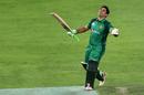 Abid Ali is all smiles after his century, Pakistan v Australia, 4th ODI, Dubai, March 29, 2019