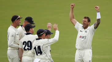 James Pattinson picked up seven wickets in the match