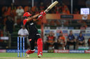 Prayas Ray Barman plays a hook, Sunrisers Hyderabad v Royal Challengers Bangalore, IPL 2019, Hyderabad, March 31, 2019