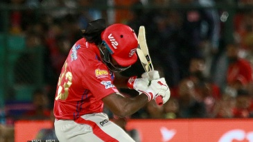 Chris Gayle - not always at his best against the short ball
