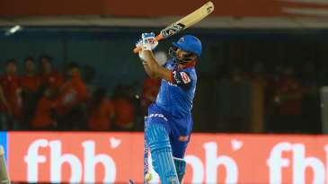 Rishabh Pant is bowled after going across the line