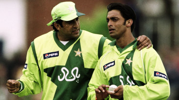 Wasim Akram talks to Shoaib Akhtar