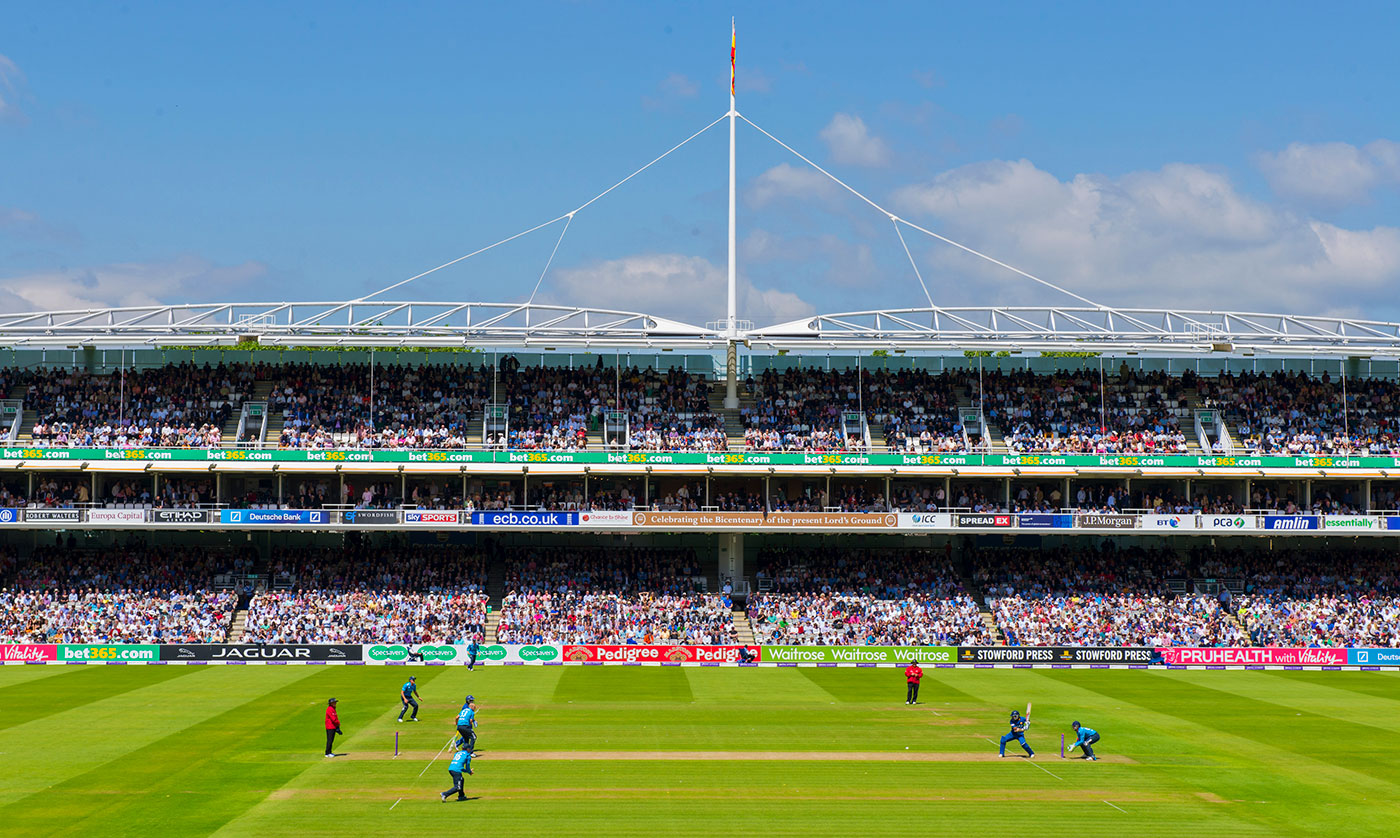 A general view of the ground during an ODI