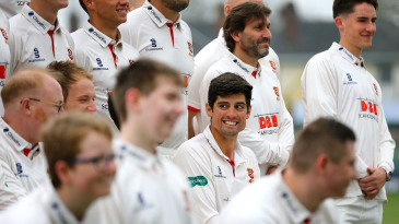 Just another face in the crowd: Alastair Cook at Essex's media day