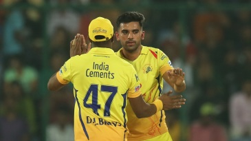 Deepak Chahar has been one of Chennai Super Kings' standout performers