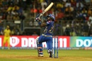 Suryakumar Yadav goes big on the leg side, Mumbai Indians v Chennai Super Kings, IPL 2019, Mumbai, April 3, 2019