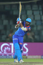 Axar Patel sends one sailing into the stands, Delhi Capitals v Sunrisers Hyderabad, IPL 2019, Delhi, April 5, 2019