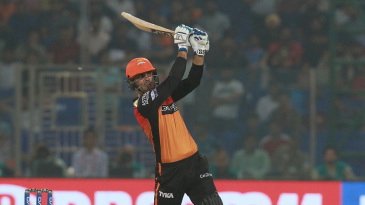Mohammad Nabi stands tall and bunts one away