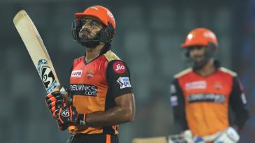 Vijay Shankar had a rare unproductive day with the bat