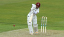 Ricardo Vasconcelos leans into a drive, Northants v Middlesex, County Championship Division Two, Wantage Road, April 5, 2019