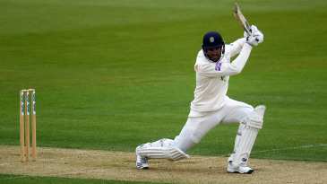 Aiden Markram made a half-century on his Hampshire debut