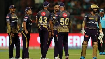 Part-timer Nitish Rana got Knight Riders the first breakthrough