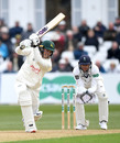 Ben Slater strokes one through the covers, Notts v Yorkshire, County Championship Division One, Trent Bridge, April 5, 2019