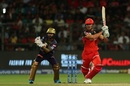Marcus Stoinis smashed it around at the death, Royal Challengers Bangalore v Kolkata Knight Riders, IPL 2019, Bengaluru, April 5, 2019