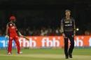 Lockie Ferguson reacts after bowling, Royal Challengers Bangalore v Kolkata Knight Riders, IPL 2019, Bengaluru, April 5, 2019