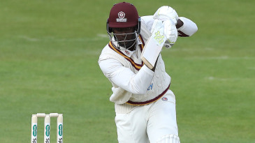 Jason Holder was making his Northamptonshire debut