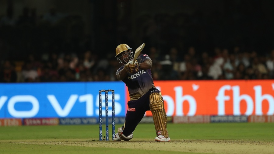 Andre Russell goes big